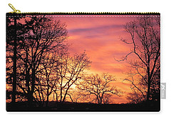 Red Sky At Night Sailor's Delight Carry-all Pouch