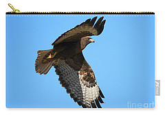 Red-tail Flight Carry-all Pouch by Mike Dawson
