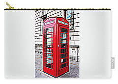 Red Telephone Box Call Box In London Carry-all Pouch