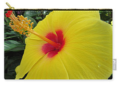 Red Throat With Dew Drops Carry-all Pouch