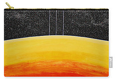 Red To Yellow Spacescape Carry-all Pouch
