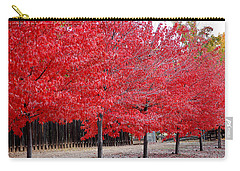 Red Tree Line Carry-all Pouch