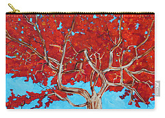 Red Tree Wip Carry-all Pouch