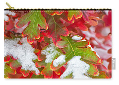 Carry-all Pouch featuring the photograph Red White And Green by Ronda Kimbrow