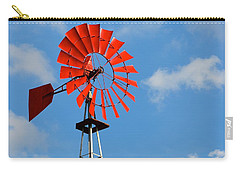 Red Windmill Carry-all Pouch