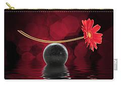 Red Zen Gerbera Carry-all Pouch