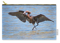 Reddish Tent Carry-all Pouch by David Beebe