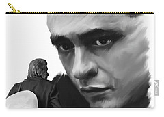 Redemption Jonny Cash Carry-all Pouch by Iconic Images Art Gallery David Pucciarelli