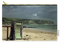 Redundant Deck Chairs Carry-all Pouch by Linsey Williams