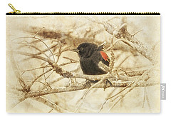 Redwing In The Wind Carry-all Pouch