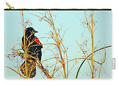 Redwing Lacassine  Carry-all Pouch by Lizi Beard-Ward