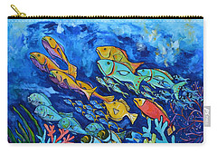 Reef Fish Carry-all Pouch by Patti Schermerhorn
