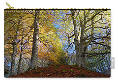 Carry-all Pouch featuring the photograph Reelig Forest  by Gavin Macrae
