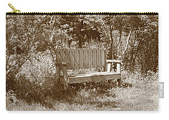 Reflecting Bench Carry-all Pouch