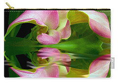 Reflecting Lily Carry-all Pouch