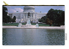 Reflecting Pool With A Government Carry-all Pouch by Panoramic Images