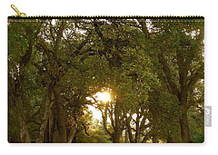 Reflection At Sunrise Carry-all Pouch by Michele Myers