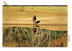 Carry-all Pouch featuring the photograph Reflection by Carol Lynn Coronios