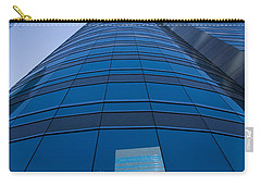 Reflection Of Buildings On A Stock Carry-all Pouch by Panoramic Images