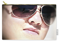 Carry-all Pouch featuring the photograph Reflection by Pennie  McCracken