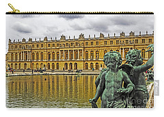 Reflection Pool Of Versailles Carry-all Pouch