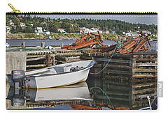Carry-all Pouch featuring the photograph Reflections by Eunice Gibb