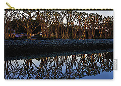 Carry-all Pouch featuring the photograph Reflections In First Light by Gary Holmes