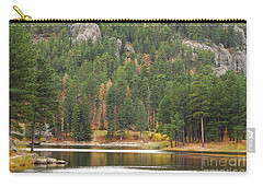 Carry-all Pouch featuring the photograph Reflections by Mary Carol Story