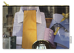 Carry-all Pouch featuring the photograph Reflections Of A Gentleman's Tailor by Terri Waters