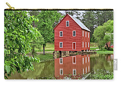 Reflections Of A Retired Grist Mill Carry-all Pouch by Gordon Elwell