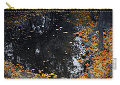 Carry-all Pouch featuring the photograph Reflections Of Autumn by Photographic Arts And Design Studio