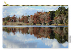 Carry-all Pouch featuring the photograph Reflections Of Color by Debra Forand