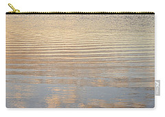 Reflections Of Dusk Carry-all Pouch by Allen Sheffield