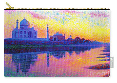 Taj Mahal, Reflections Of India Carry-all Pouch