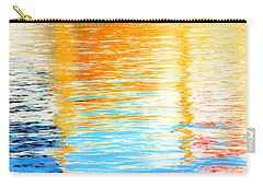 Reflections Of The Setting Sun Carry-all Pouch