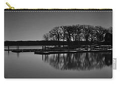 Carry-all Pouch featuring the photograph Reflections Of Water by Miguel Winterpacht