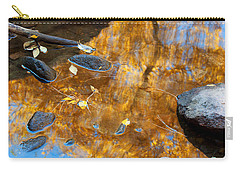 Carry-all Pouch featuring the photograph The Melting Pot by Jim Garrison