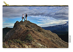 Carry-all Pouch featuring the photograph Reg 1 by Benjamin Yeager