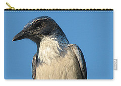 Regal Western Scrub Jay Carry-all Pouch