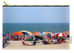Rehobath Beach Delaware Carry-all Pouch by Patti Whitten