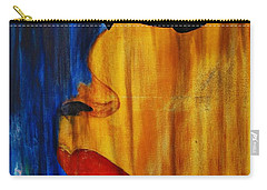 Carry-all Pouch featuring the painting Reign Over Me 3 by Michael Cross