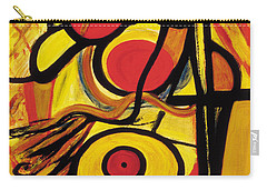 Carry-all Pouch featuring the painting Relativity 2 by Stephen Lucas