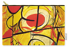 Carry-all Pouch featuring the painting Relativity 3 by Stephen Lucas
