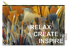 Relax Create Inspire Carry-all Pouch