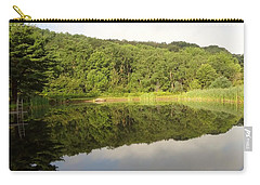 Carry-all Pouch featuring the photograph Relaxation by Michael Porchik