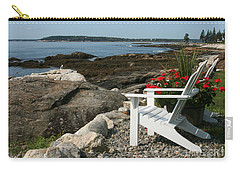 Carry-all Pouch featuring the photograph Relaxing Afternoon by Mariarosa Rockefeller