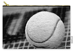 Remember The White Tennis Ball Carry-all Pouch by Kaye Menner