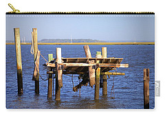 Carry-all Pouch featuring the photograph Remnants by Gordon Elwell