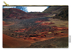 Carry-all Pouch featuring the photograph Remnants Of A Catastrophe by Patricia Griffin Brett