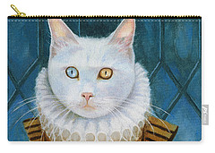 Carry-all Pouch featuring the painting Renaissance Cat by Terry Webb Harshman